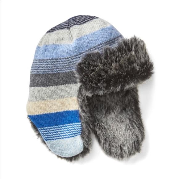 516cb87962d GAP Crazy Stripe Trapper Hat